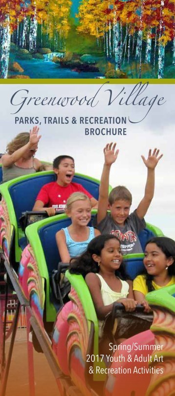 2017 Parks, Trails, and Recreation Brochure