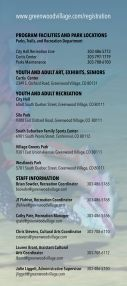 2017 Parks, Trails, and Recreation Brochure - Page 3