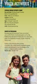 2017 Parks, Trails, and Recreation Brochure - Page 4