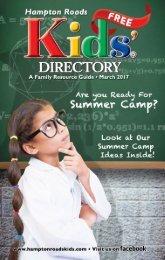Hampton Roads Kids' Directory: March 2017