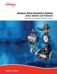 Automax Valve Automation Systems - Flowserve Corporation