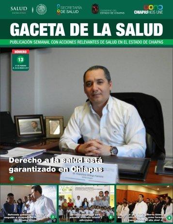 GACETA DE LA SALUD