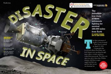 disaster in space