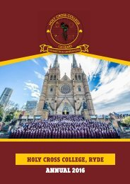 Holy Cross College - Annual 2016