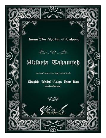 01 - Akideja Tahauijeh me koment