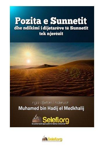 11 - Pozita e Sunetit dhe ndikimi i dijetarëve të Sunetit tek njerëzit