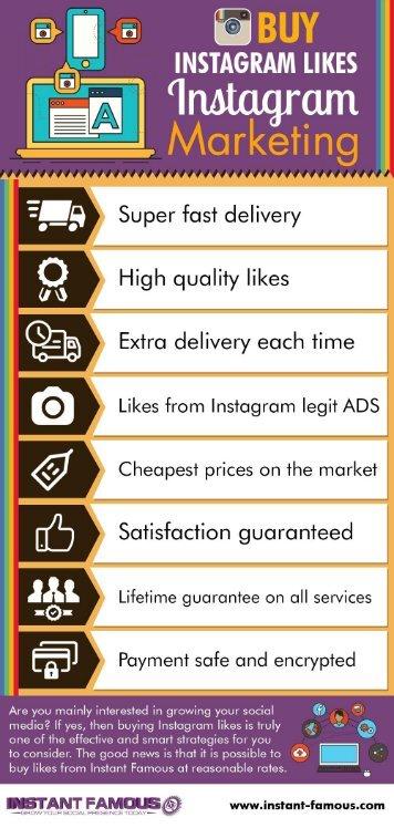 Buy Instagram Likes - Instagram Marketing 2017