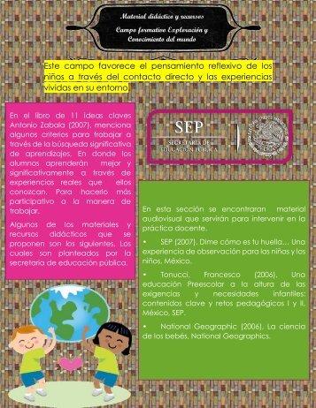 Material didactico y metodos de enseñanza revista