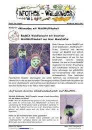 Infothek Waldkinder - Neuheit aus der Manufaktur BäuMIX