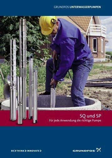 UNTERWASSERPUMPEN - Ambergauer Brunnenbau