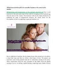 Buy Mifeprex Mifepristone and Misoprostol Pills Online at TheMifepristonePills USA UK