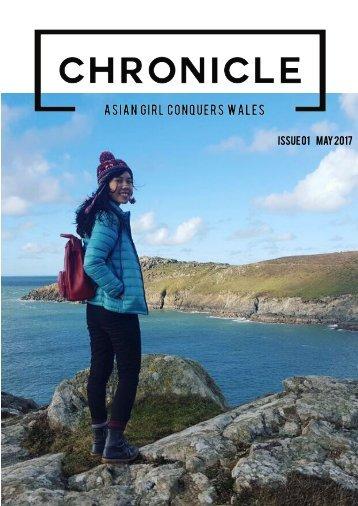 Mockup Sample Chronicle Magazine