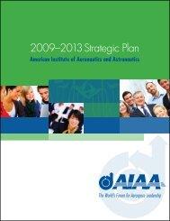 2009–2013 Strategic Plan - American Institute of Aeronautics and ...