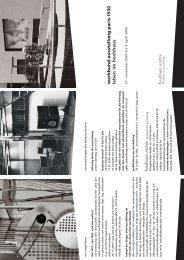 leben im hochhaus werkbund -ausstellung paris 1 ... - Bauhaus Archiv