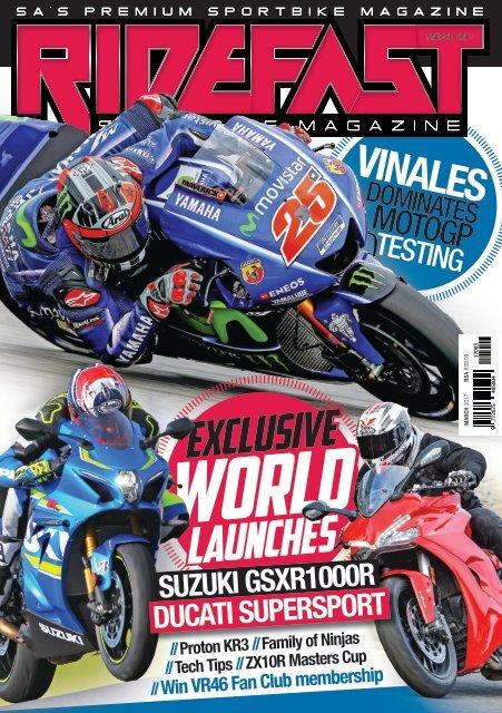 RideFast Magazine March 2017