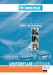UNTERFLURVERTEILER - MDB Blechschmidt