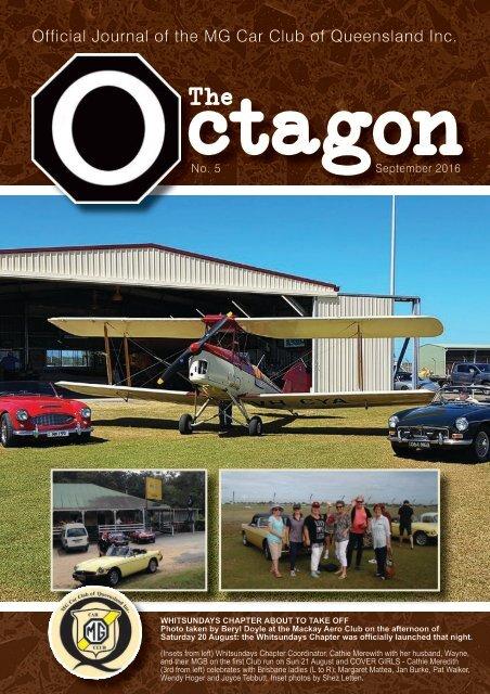 Octagon September, 2016