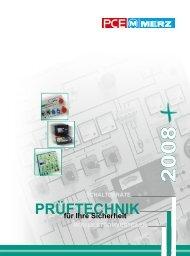 PRÜFTECHNIK PRüF- UnD MESSgERÄTE - MDB Blechschmidt