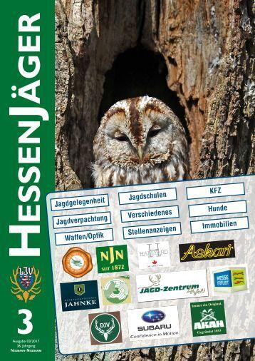 HessenJäger 03/2017 Kleinanzeigen