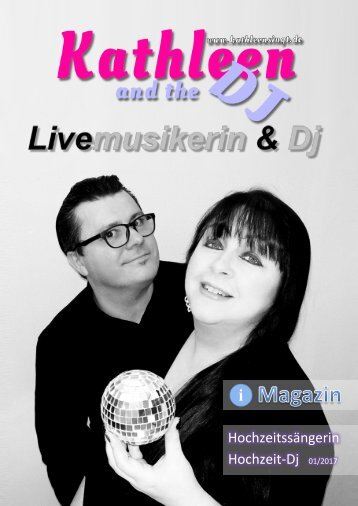 Kathleen and the Dj Magazin 01/2017