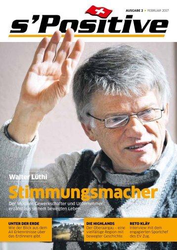 s'Positive Magazin 02.2017