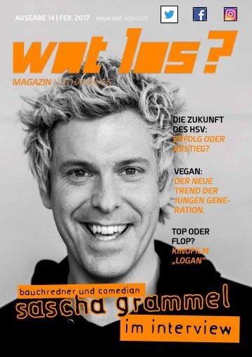 Wat Los? / Ausgabe 02 - 2017