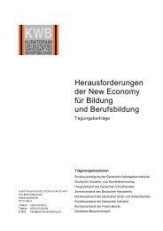 Inhalt - Kuratorium der Deutschen Wirtschaft für Berufsbildung