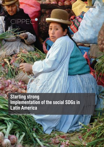 Title Starting strong Implementation of the social SDGs in Latin America