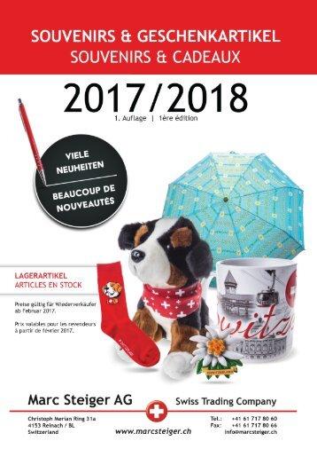 Souvenir und Geschenkartikel Katalog 2017/2018