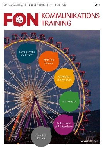 FON Institut Seminare 2017