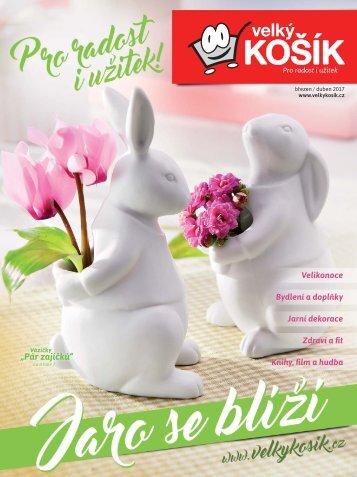 Velký Košík - březen / duben 2017