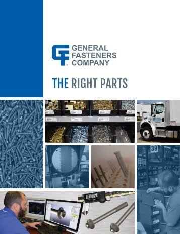 General Fasteners Company Brochure