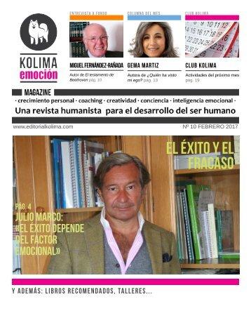 KOLIMA EMOCION MAGAZINE Febrero 2017