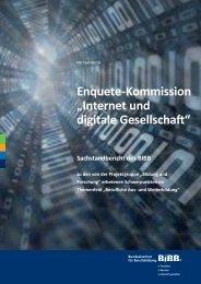 """Enquete-Kommission """"Internet und digitale Gesellschaft"""" - Foraus.de"""