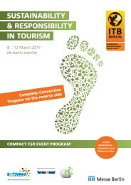 & RESPONSIBILITY IN TOURISM