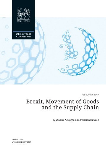 Brexit Movement of Goods and the Supply Chain