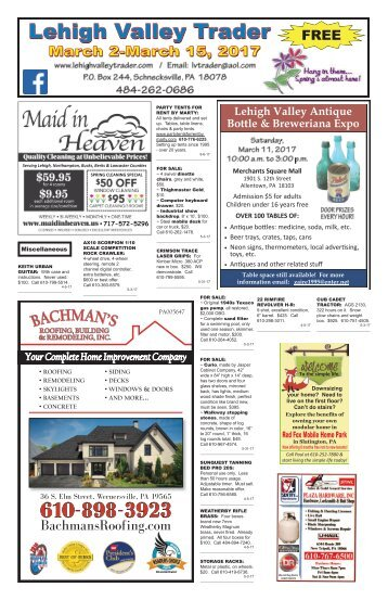 Lehigh Valley Trader March 2-March 15, 2017 issue
