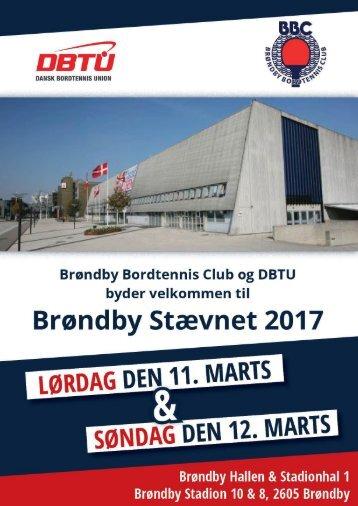 Stævneprogram - Brøndby Stævnet 2017 - Ny
