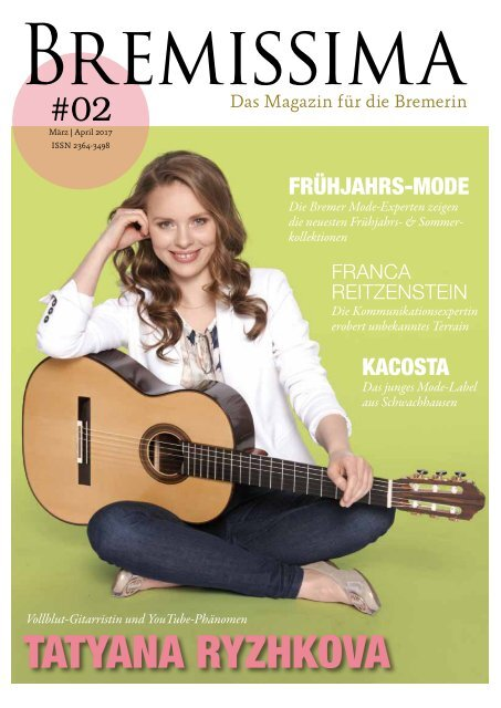 BREMISSIMA Magazin | März-April 2017