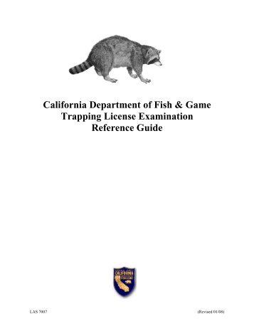 Nuisance black bears california department of fish and game for Fish and game licence