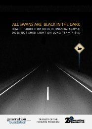 ALL SWANS ARE BLACK IN THE DARK