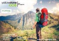 YELLOWSTONE Camping & Outdoor - Full Catalogue