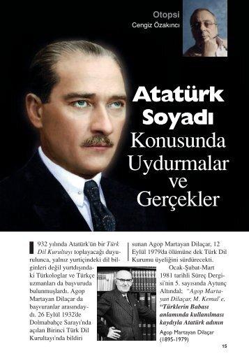 Atatürk Soyadı Konusunda Uydurmalar ve Gerçekler