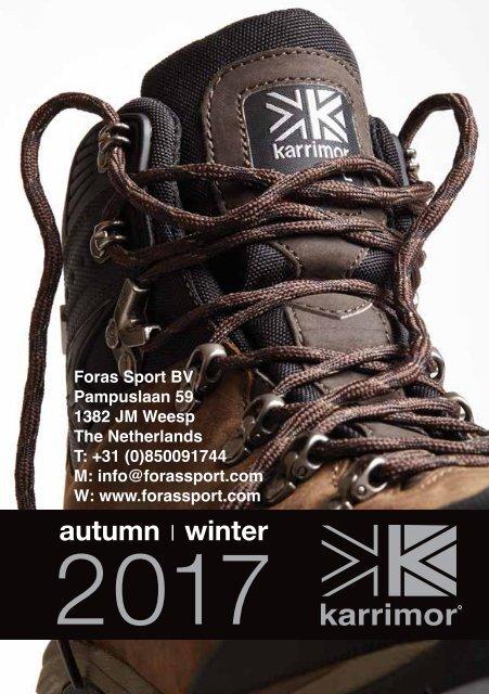 KSB Orkney III Ladies Weathertite Brown 8 UK