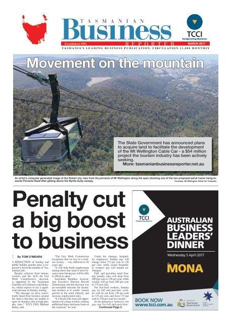 Tasmanian Business Reporter March 2017