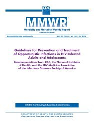 Guidelines for Prevention and Treatment of Opportunistic Infections ...