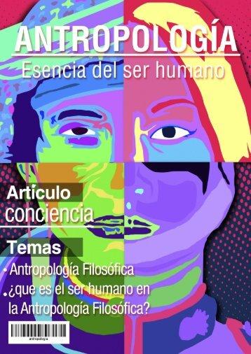 Antropología - Esencia del ser humano