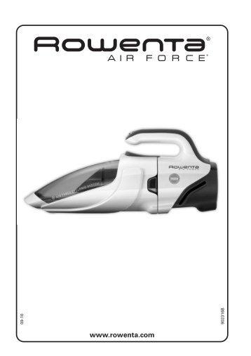 Rowenta AIR FORCE AC9258 - AIR FORCE AC9258 Magyar (Hungarian)