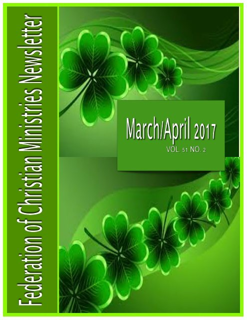 March:April 2017 FCM Newsletter 2