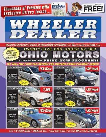 Wheeler Dealer Issue 09, 2017